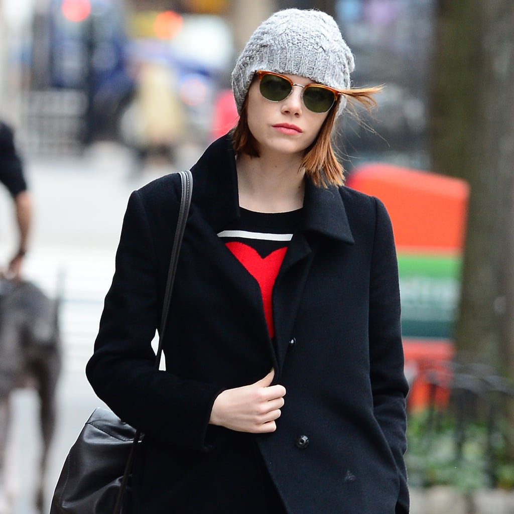 Emma Stone Fall Outfit Street Style