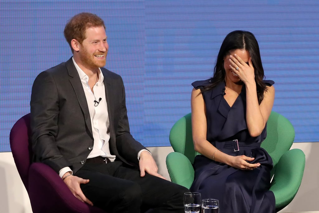 February: When They Shared a Sweet Moment at the First Annual Royal Foundation Forum