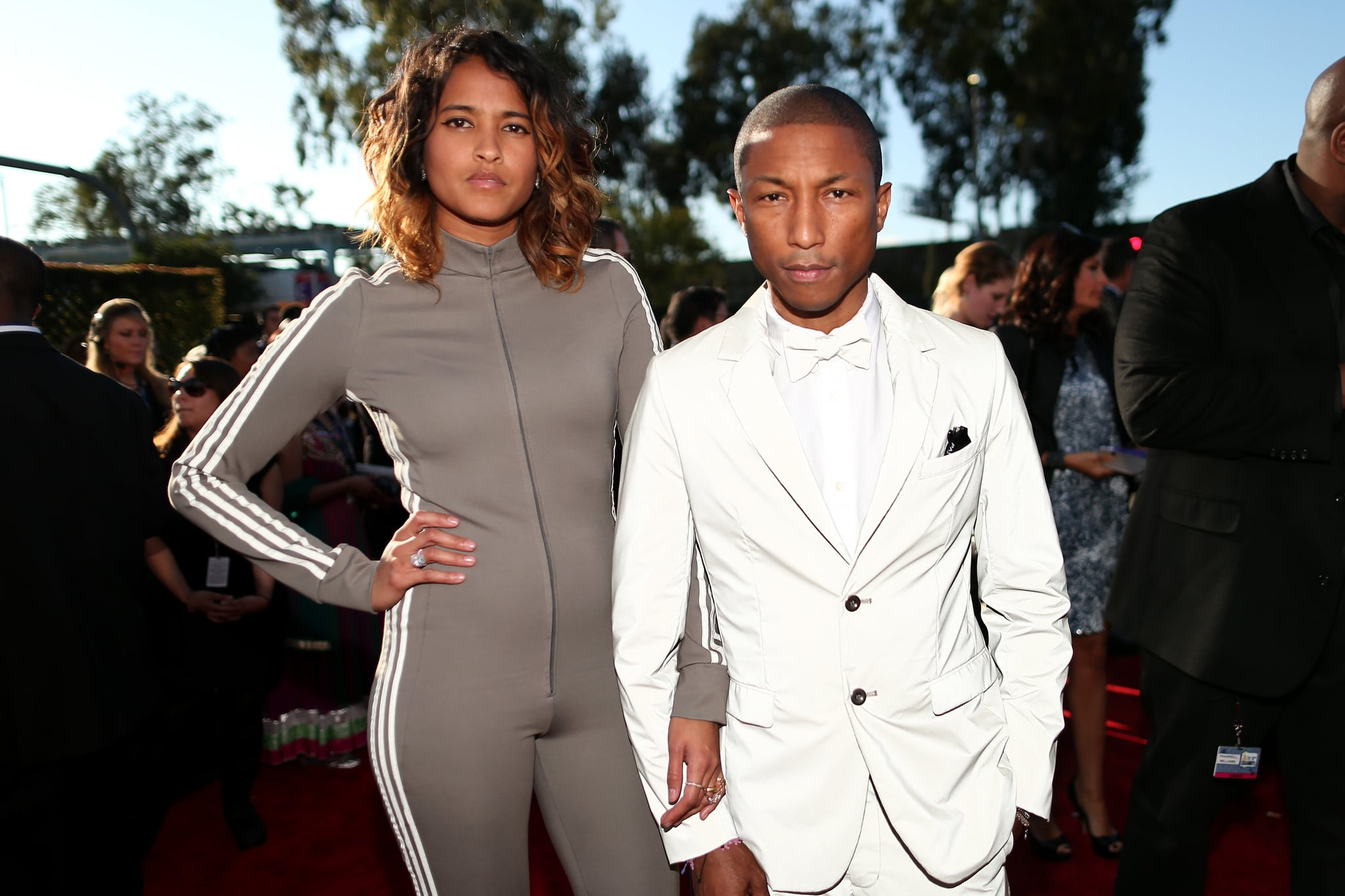 Pharrell Williams and Helen Lasichanh Welcome Triplets 2017 | POPSUGAR  Celebrity