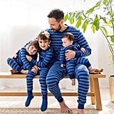 Hanna Andersson Classic Stripes in Deep Blue Sea Collection ($12-$64)