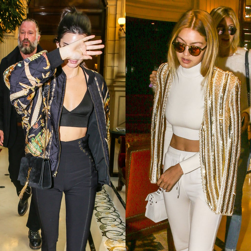 Gigi and Kendall Are Bringing Sexy Back to Balmain