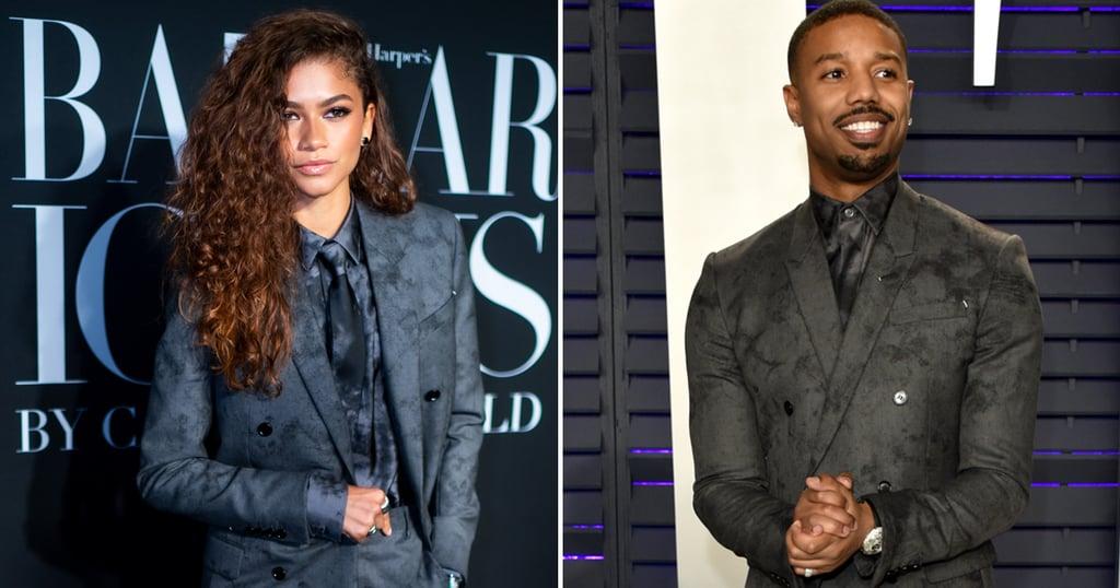 Zendaya Wears the Same Berluti Suit As Michael B. Jordan