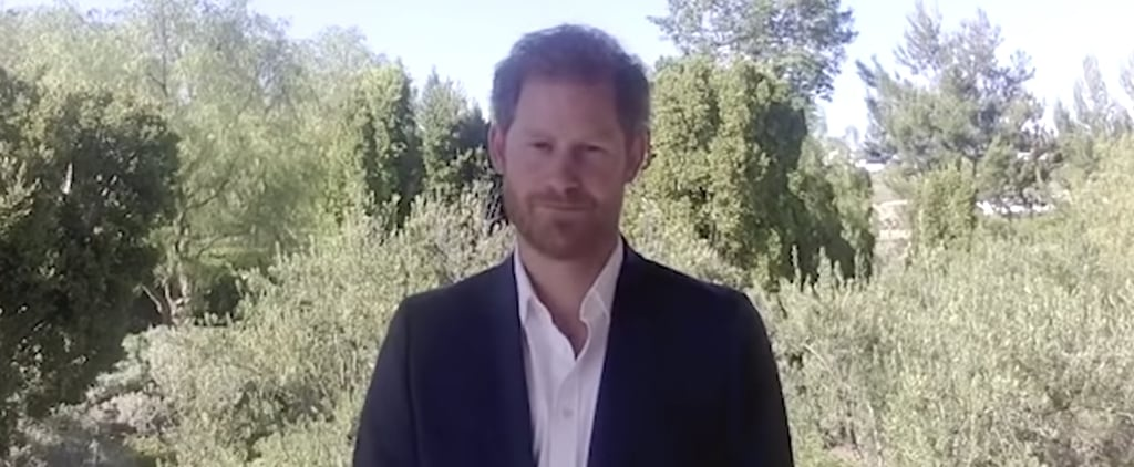 Watch Prince Harry's Speech at the 2020 AIDS Conference