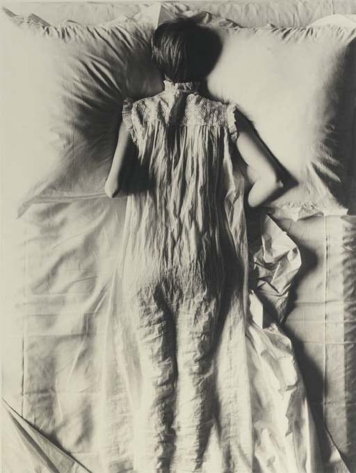 Girl in Bed (Jean Patchett), New York, 1949