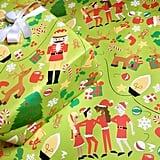 Santa Fun Gift Wrap