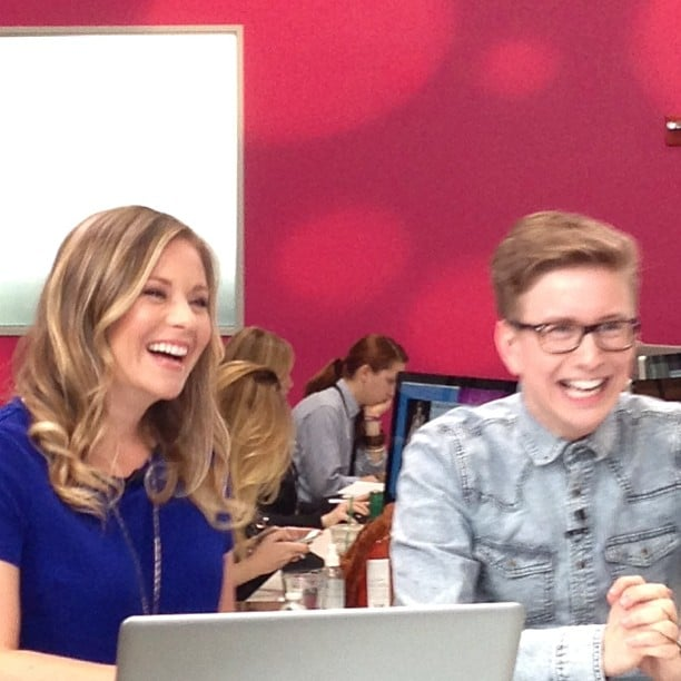 Tyler Oakley and Becca Frucht had us doubled over in laughter on Top That!