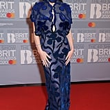 Hailee Steinfeld at the 2020 BRIT Awards in London