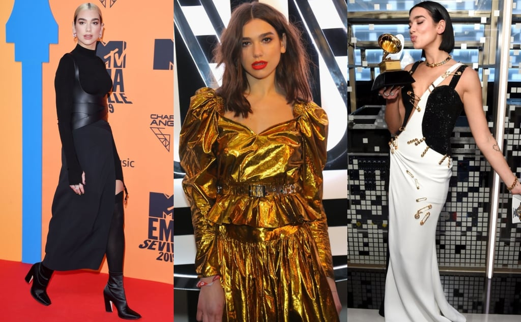 Dua Lipa Street and Red Carpet Style