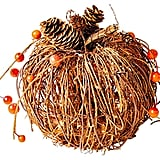 Wicker Pumpkin