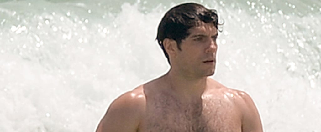 Henry Cavill Shows Off His Superhero Mussels — Er, Muscles — at the Beach