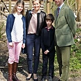 Prince Edward, Earl of Wessex, and His Family