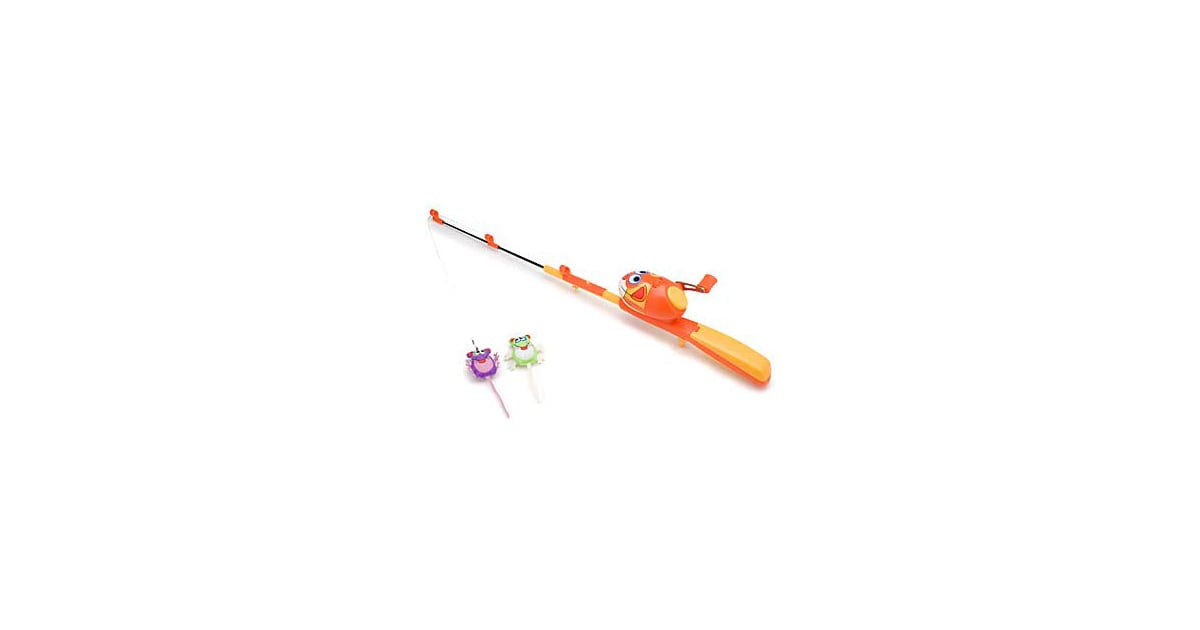 Kitty hoots catfisher fishing rod and reel cat toy go for Cat toy fishing pole