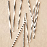 Metallic Straws