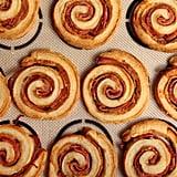 Ham and Cheese Puff Pastry Pinwheels
