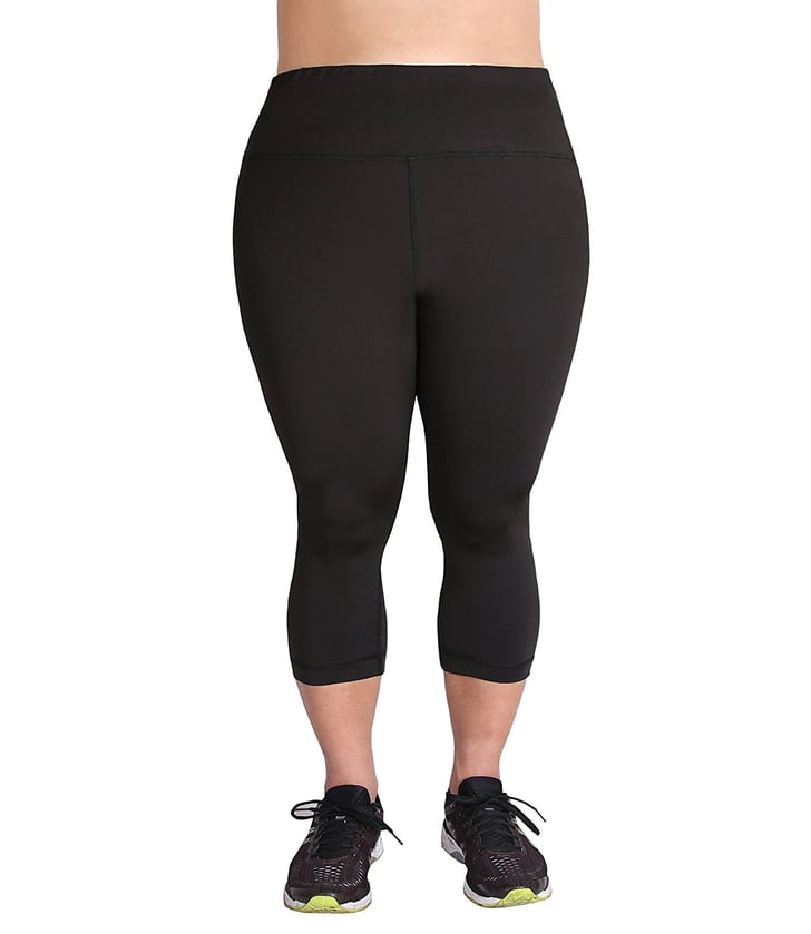 Fitness Leggings Amazon Uk: Zerdocean Plus-Size High-Waist Tummy-Control Tights