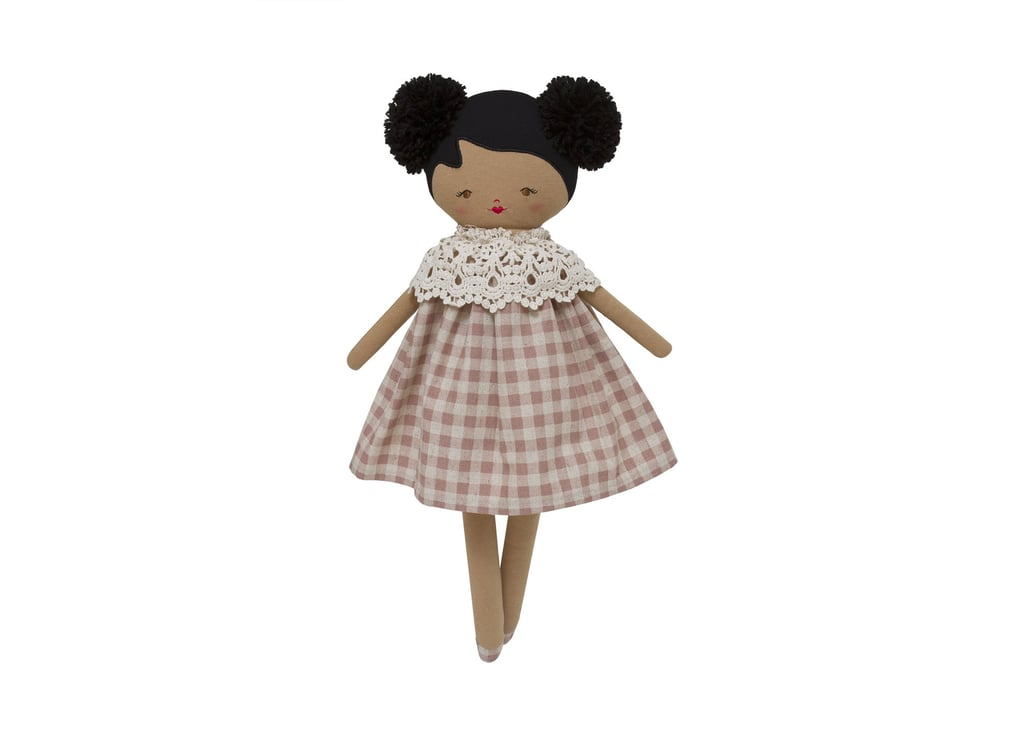 Alimrose Aggie Doll in Rose Check