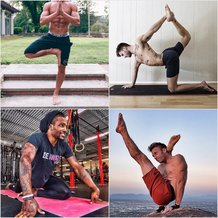 Hot Guys Doing Yoga