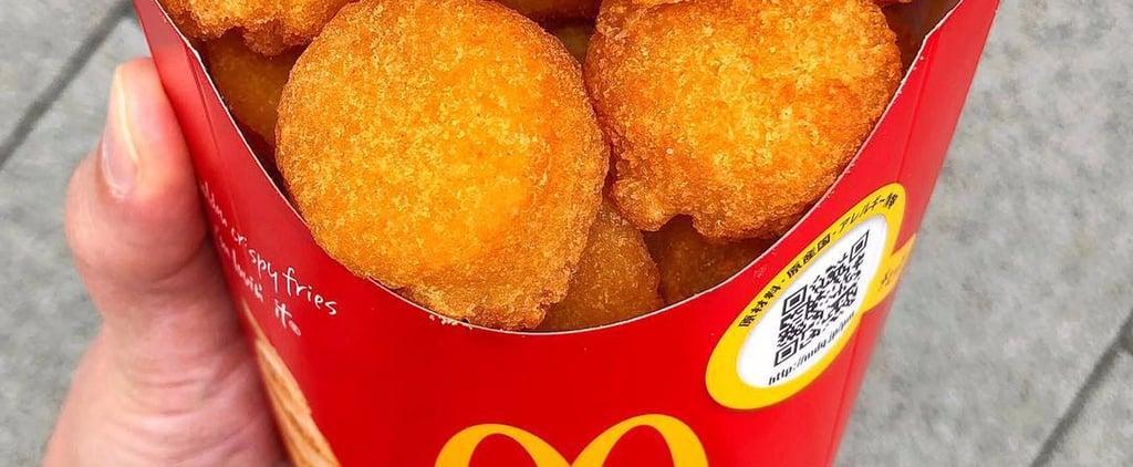 McDonald's Japan Has Cheesy Potato Bites That Are Basically Balls of Joy