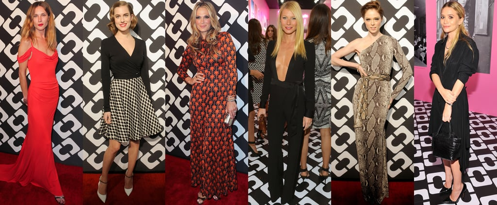 Celebrities Wearing Diane von Furstenberg