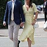 Pippa Middleton and James Matthews at Wimbledon