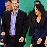 Prince Harry and Meghan Markle at Coach Core Awards 2018