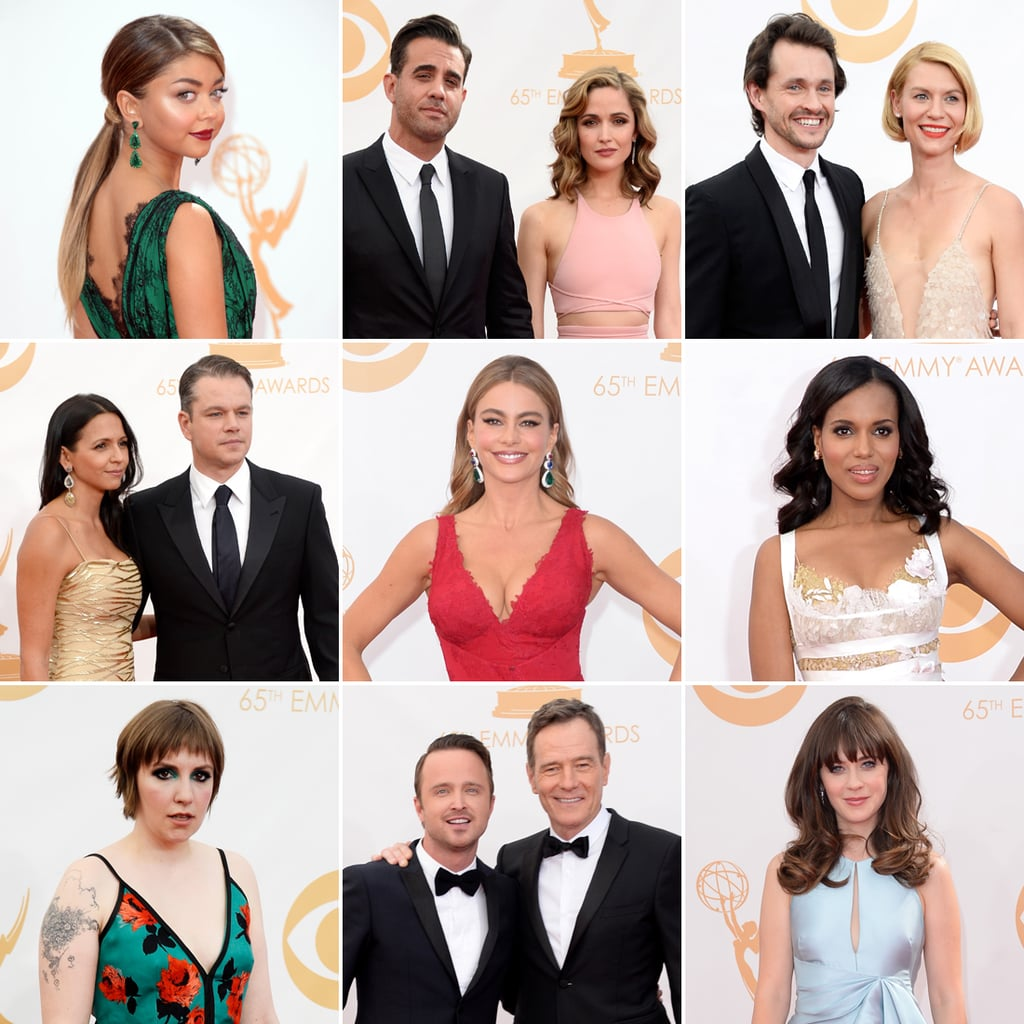 See the Red Carpet Arrivals at the 2013 Emmy Awards