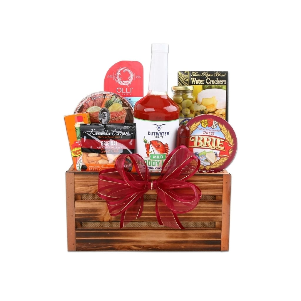 Alder Creek Gifts Large Bloody Mary Christmas Gift Basket | Edible ...
