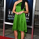 Mandy Moore's Green Dress at Breakthrough Premiere 2019