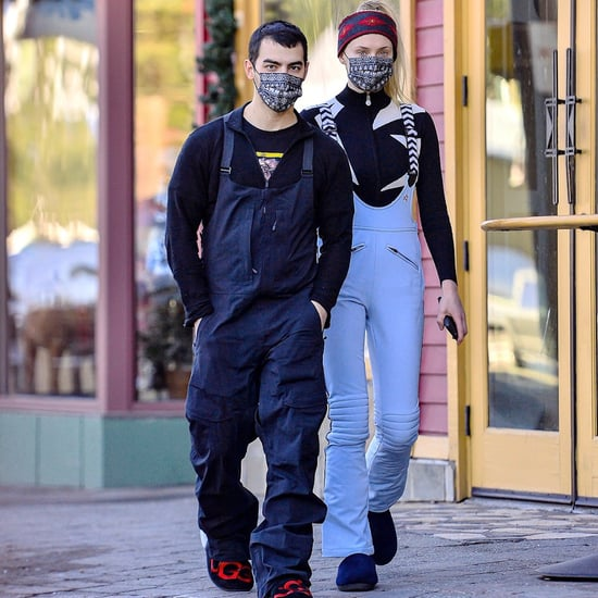 Sophie Turner and Joe Jonas Wore Matching Masks While Skiing