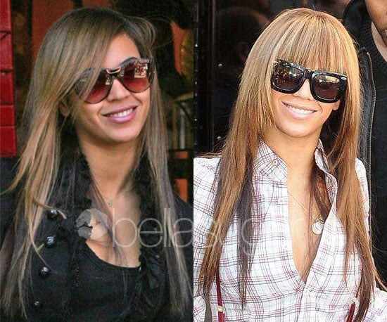 Do you prefer Beyonce with or without bangs?