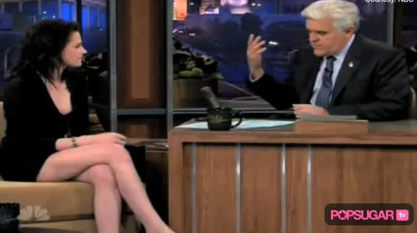 Photos and Video of Kristen Stewart on The Jay Leno Show