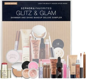 Enter to Win a Sephora Glitz & Glam Shimmer and Shine Makeup Deluxe Sampler