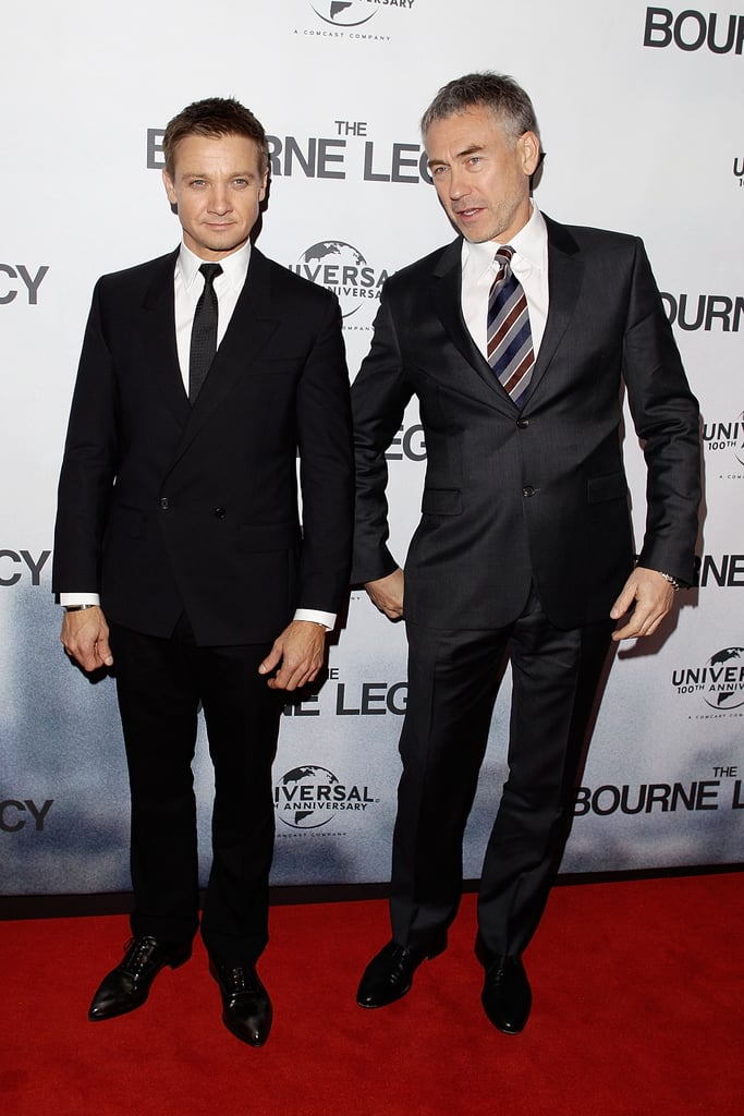 Jeremy Renner and Tony Gilroy