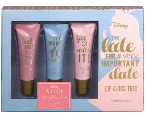 Disney's Alice Late For an Important Date Lip Gloss Trio (£6)