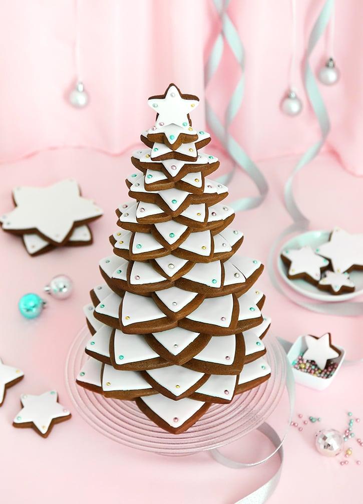 Gingerbread Star Cookie Tree