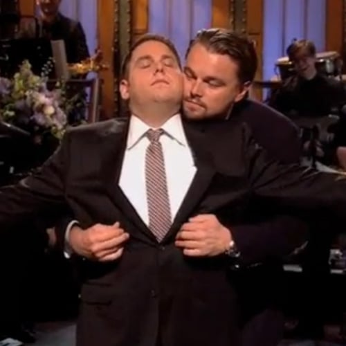 Leonardo DiCaprio and Jonah Hill Re-Create Titanic on SNL