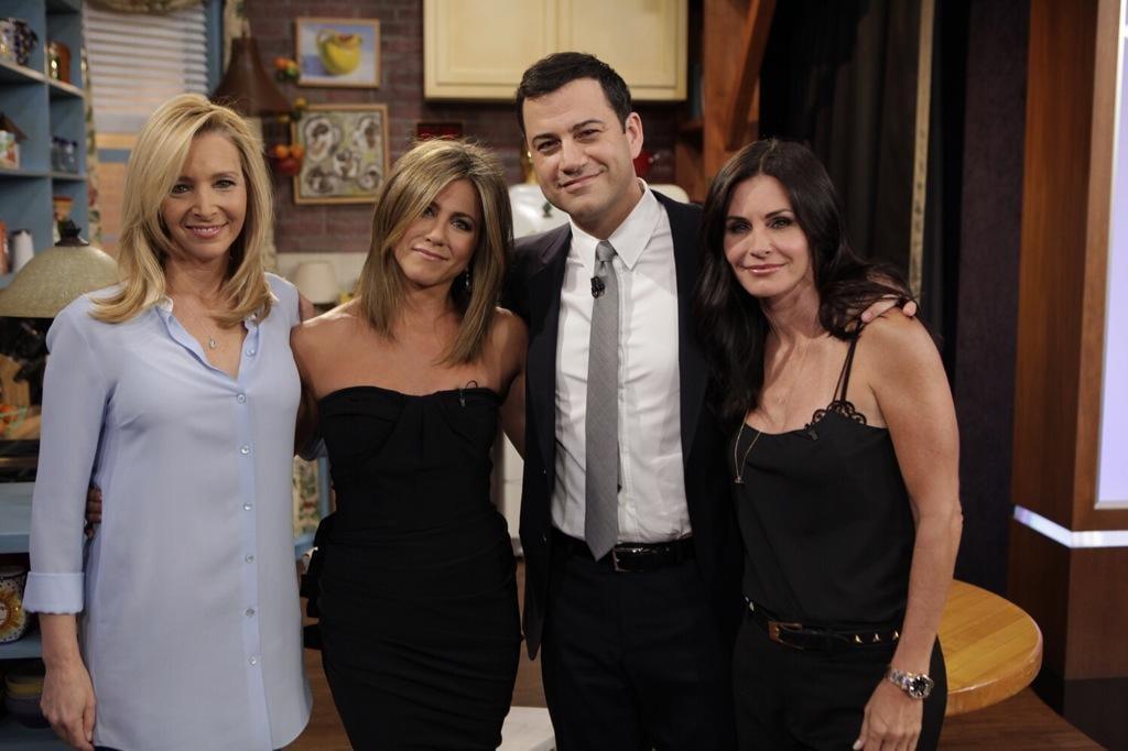 Friends TV Show Reunion on Jimmy Kimmel Live 2014