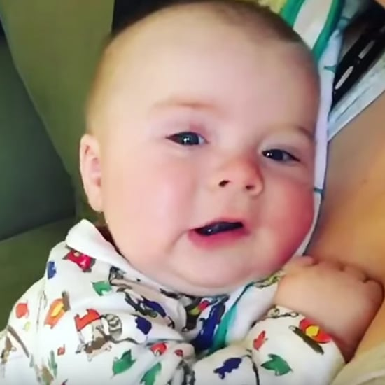 "Baby Says ""Oh No"" After Sneezing"