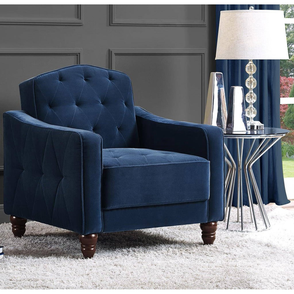 Novogratz Vintage Tufted Accent Chair