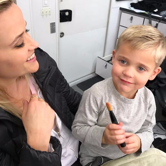 Reese Witherspoon and Tennessee Toth Set Photo Nov. 2016