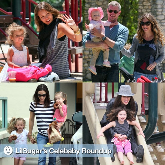 celebrities and their babies popsugar family