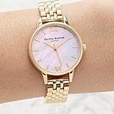 Olivia Burton Mother-of-Pearl Bracelet Watch