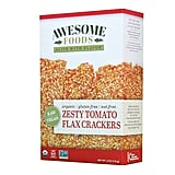 Awesome Foods Zesty Tomato Flax Crackers