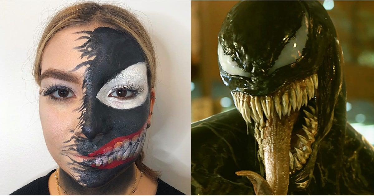 Venom Halloween Makeup Popsugar Beauty