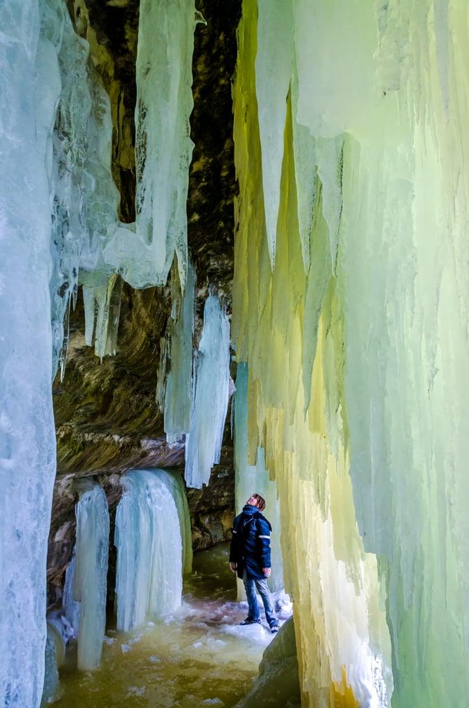Eben Ice Caves, USA