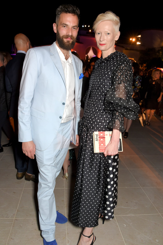 Tilda Swinton And Sandro Kopp Pictures Popsugar Celebrity
