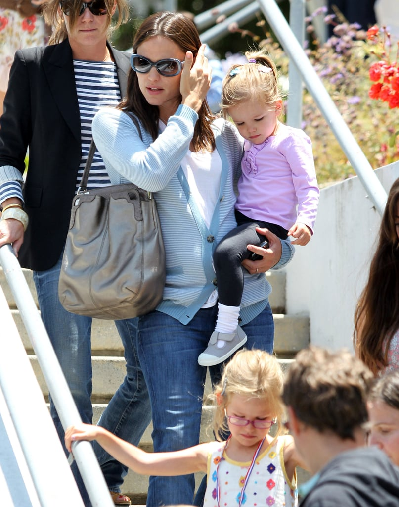Jennifer, Violet, and Seraphina Have a Play Date in the Palisades