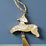 Tasselled Deer Ornament