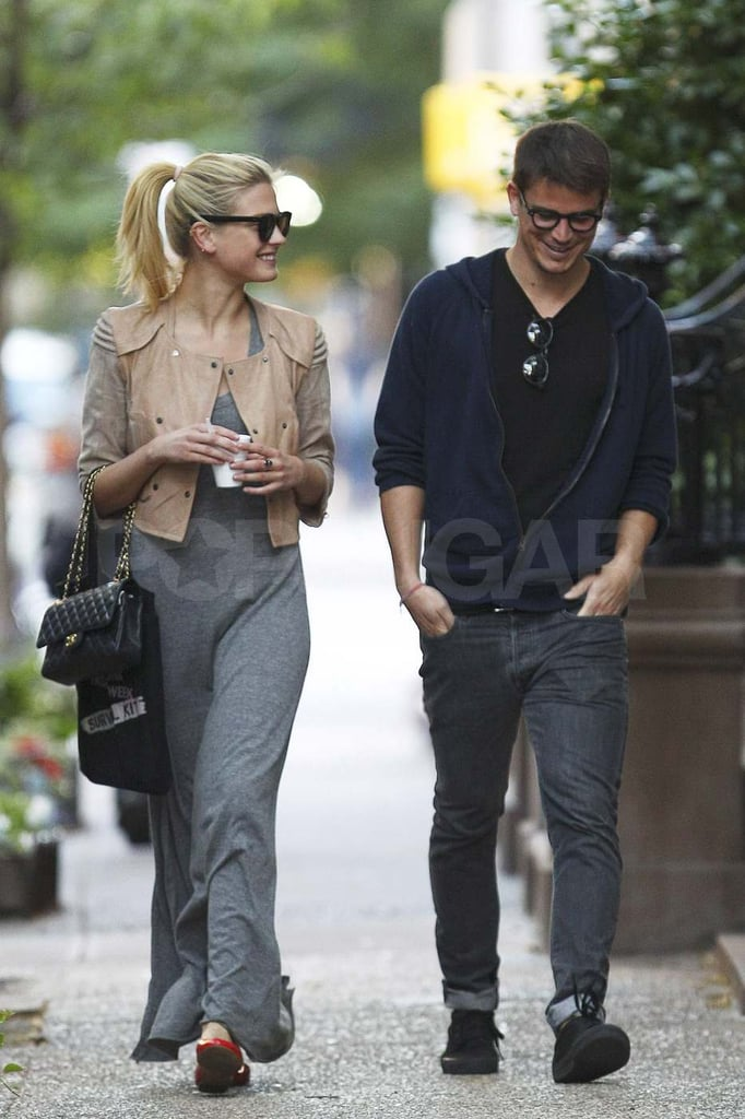 Josh Hartnett and Sophia Lie took a stroll on the streets of NYC's West Village on Thursday. The couple met up with friends at Imperial Woodpecker, which serves up New Orleans style snow cones, before going their separate ways. Josh and Sophia have been spotted out multiple times lately, with the duo enjoying a walk together and attending a fashionable bash last week. Their relationship seems to be going strong though Josh has also been out and about without his girlfriend. He grabbed lunch with friends on Tuesday and stepped out solo for a movie screening on Wednesday.