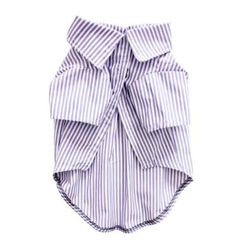 Does your dog have an affinity for classic menswear? Then this Romy + Jacob striped collared shirt ($43) would be perfect for him. Just add a cute bow tie, and he'll be ready for The Sartorialist.